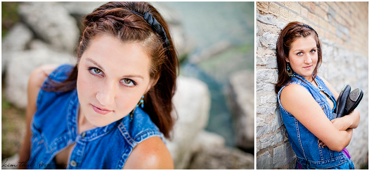 High school senior photographer, Kim Thiel Photgraphy