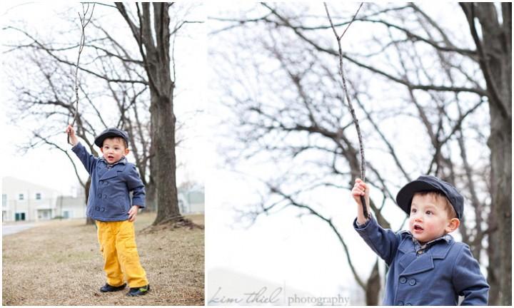 Unique child portraits by Kim Thiel Photography of Appleton, Wi