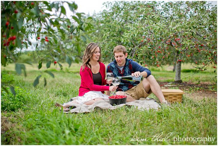 Door County Cherry Picking Season Door County Cherry Orchard Love Mehgan Alex Kim Cherry