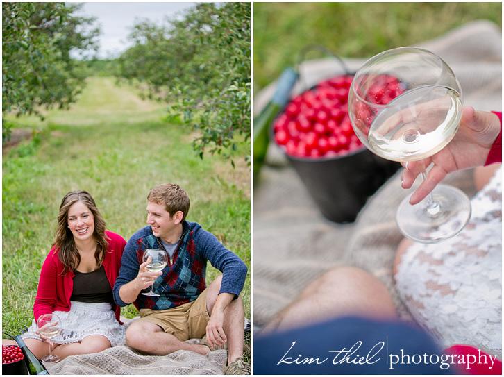Door County Cherry Orchard Love Mehgan Alex Kim