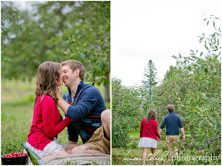 Door County Cherry Orchard Love Mehgan Alex Kim