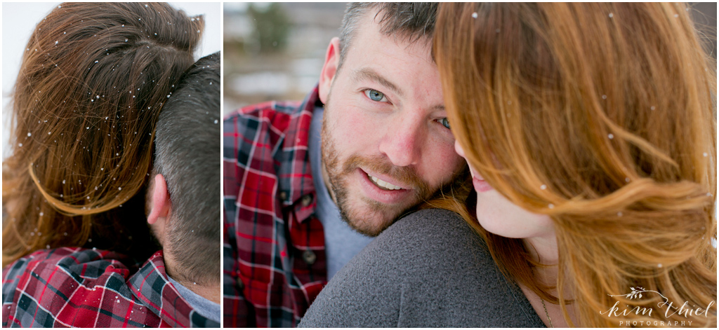 12-Kim-Thiel-Photography-Snowy-Engagement, Winter Engagement Appleton Wisconsin
