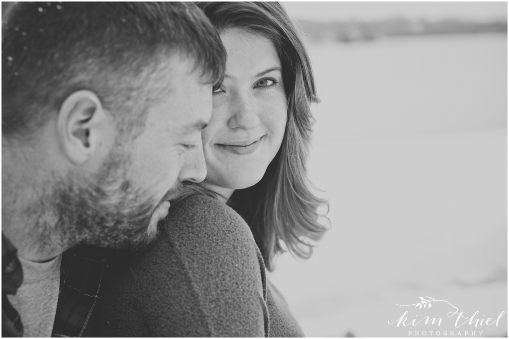 13-Kim-Thiel-Photography-Snowy-Engagement, Winter Engagement Appleton Wisconsin