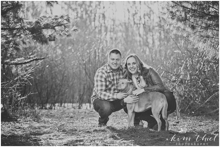 kim-thiel-photography_pine-plaid-engagement_02, Spring Engagement