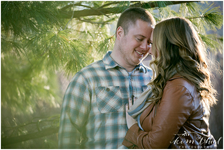 kim-thiel-photography_pine-plaid-engagement_04, Spring Engagement