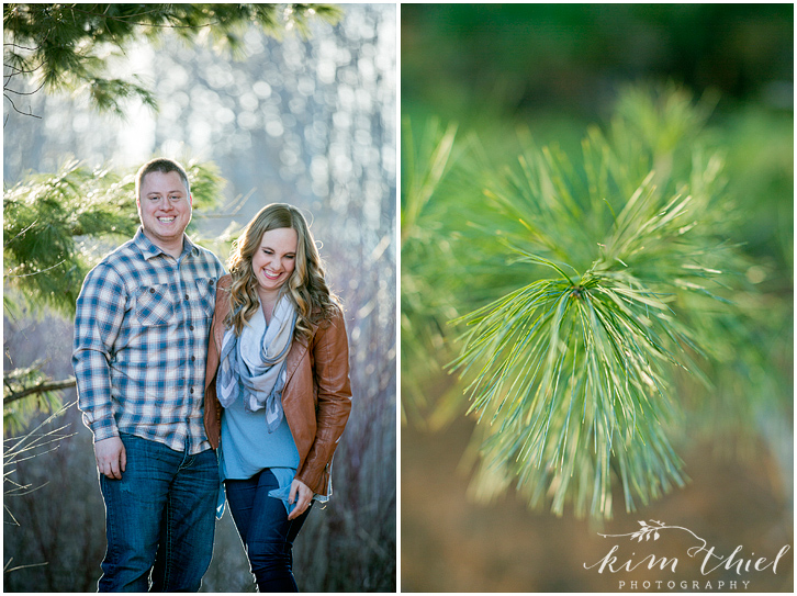 kim-thiel-photography_pine-plaid-engagement_05, Spring Engagement