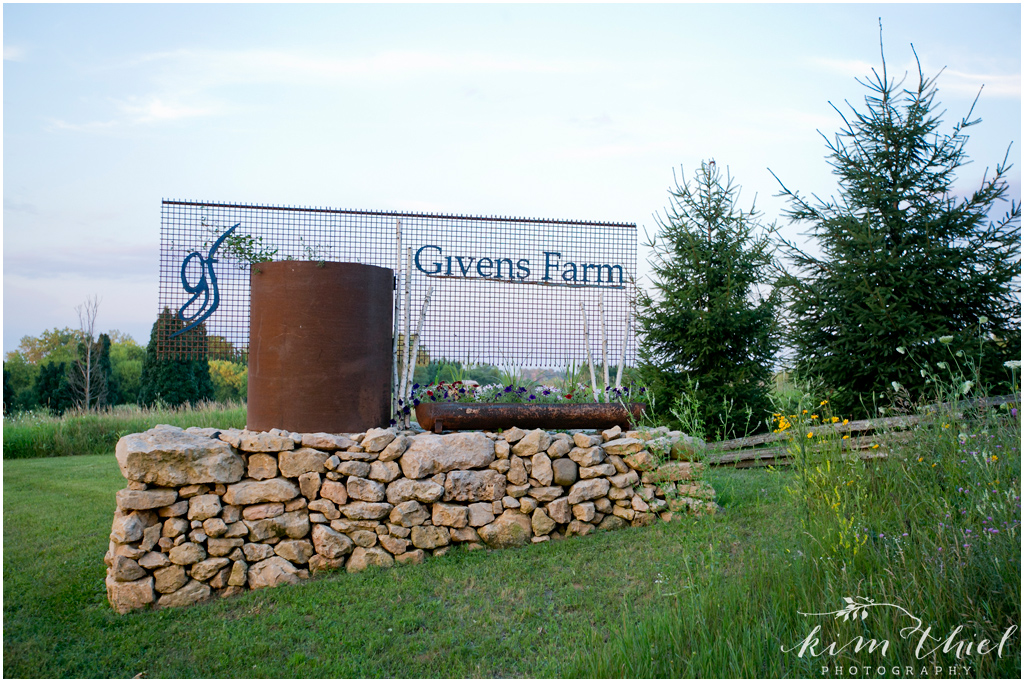 Givens Farm Wedding