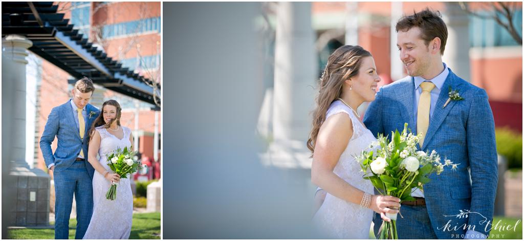 Downtown Neenah Wedding