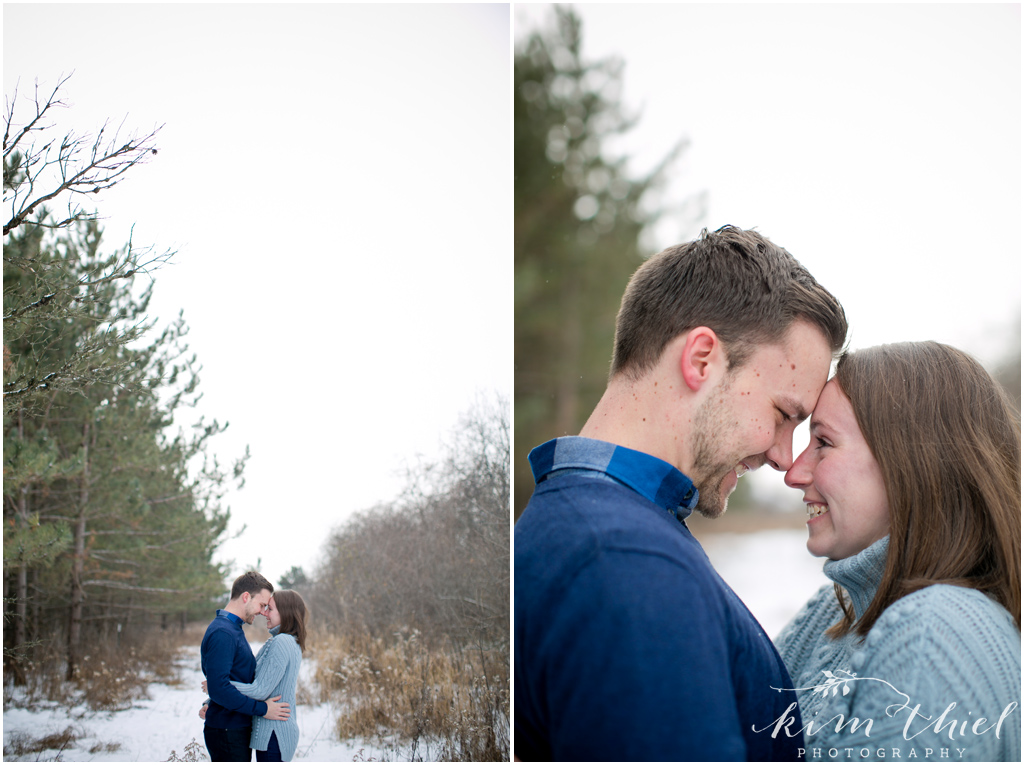 Wisconsin Winter Engagement Session