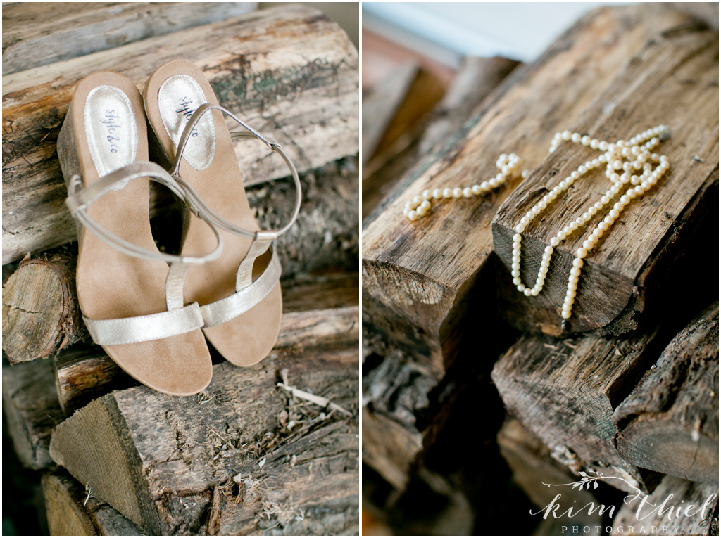 Private Door County Beach Wedding